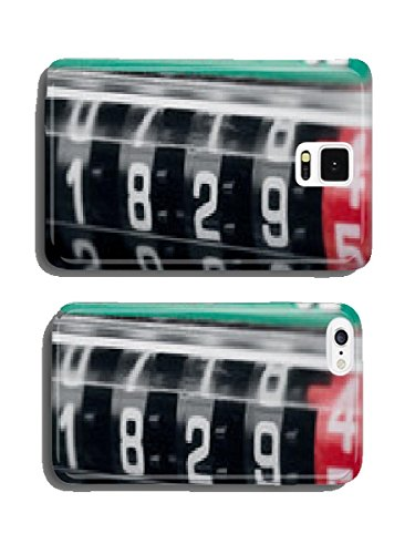 Close up of modern electricity meter counter cell phone cover case other cellphone from list below (send us message with model after order)