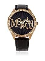 Morgan de Toi Reloj de cuarzo Woman M1089Rg Negro 42 mm