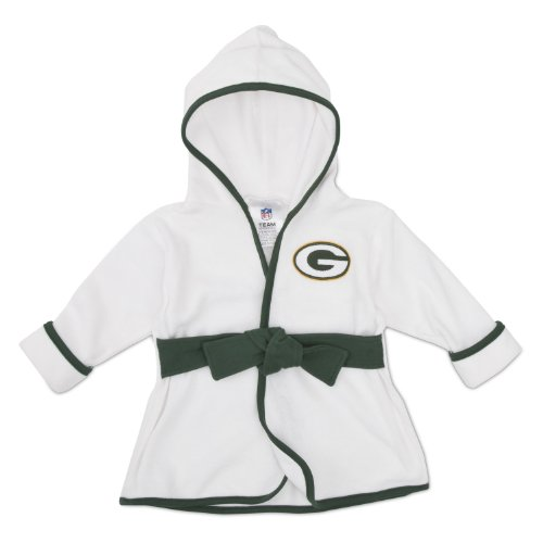 Nfl Green Bay Packers Boy'S Robe, 0-9 Months, Green front-249342