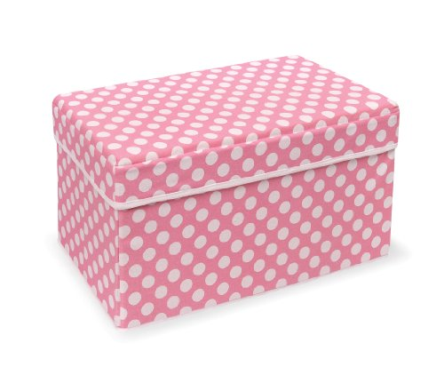 Badger Basket Company Double Folding Storage Seat, Pink (Pink Storage compare prices)