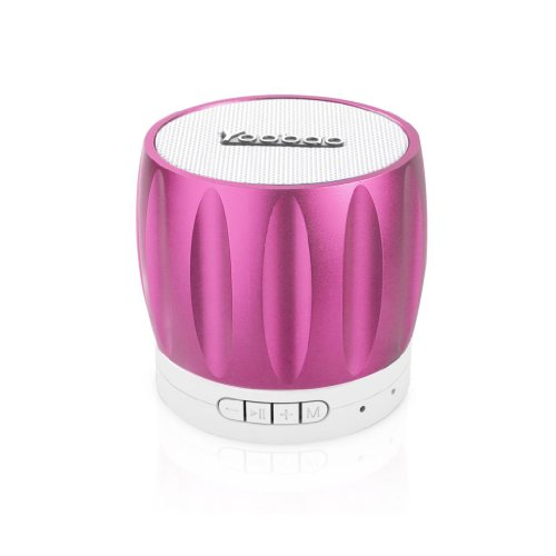 Yoobao Ybl202 Portable Wireless Bluetooth Mini-Speaker With Rechargeable Battery Bulit-In Speakerphone Surpport Tf Memory Card Playing And Radio Function Pink