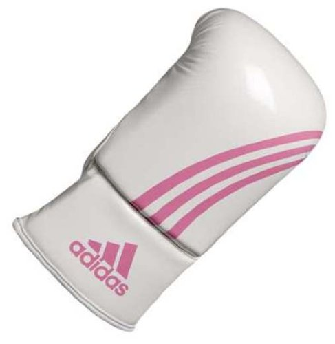 Adidas Boxfit Bag Gloves Climacool  White/Pink Small/Medium