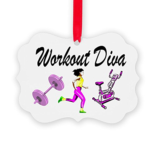 CafePress - WORKOUT & GYM - Christmas Ornament, Decorative Tree Ornament