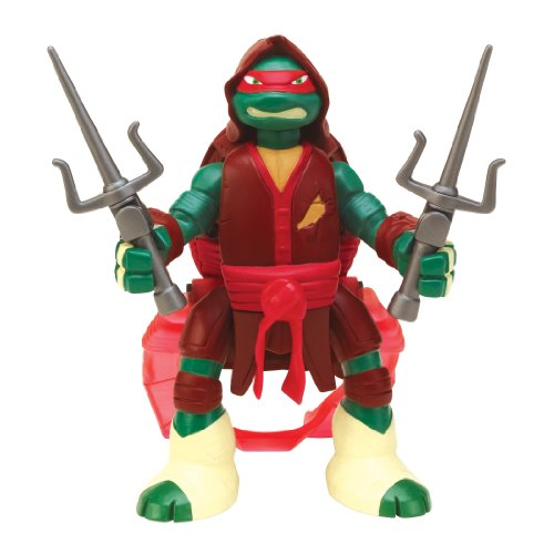 Teenage Mutant Ninja Turtles Throw N Battle Raphael Figure - 1