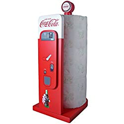 Coca-Cola Vending Machine- Kitchen Collectible Paper Towel Holder