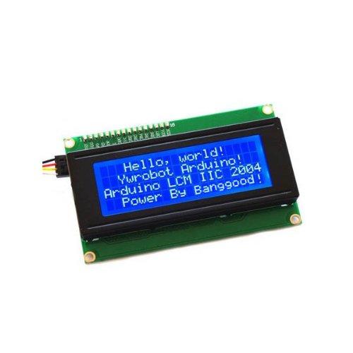 Iic / I2C 2004 204 20 X 4 Character Lcd Display Module Blue