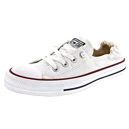 Converse Womens Chuck Taylor Shoreline White Sneaker - 8