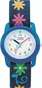 Timex Kids' T71172 Flowers Stretch Band Watch