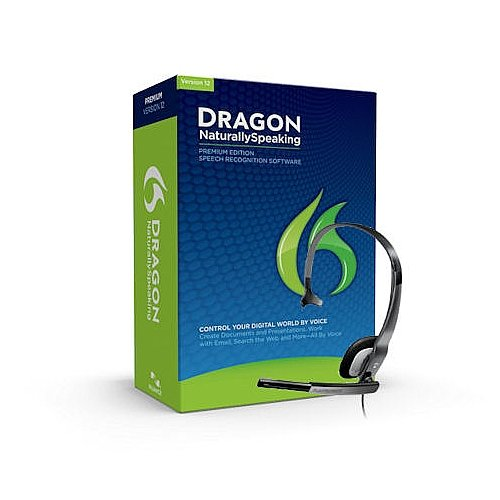 Nuance Dragon Naturallyspeaking Premium Version 12 Speech Recognition Software With Microphone