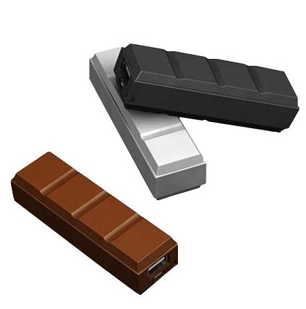 Josi Minea 2600mAh Chocolate Bar Shape Power Bank