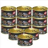 鮭の中骨水煮缶詰 (12缶)