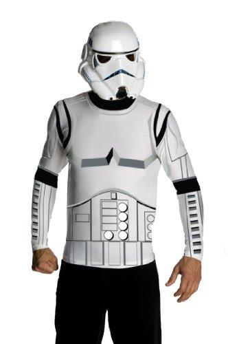 Star Wars Adult Stormtrooper Costume Kit, White, X-Large
