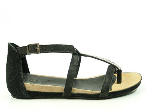 SPM 15705339 Hyena Sandali donna, schuhgröße_1:40 EU;Farbe:noir