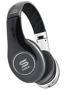 buy Soul By Ludacris Sl150Cb Hd On-Ear Headphones - Black/Chrome