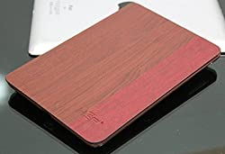 Hep Wooden Finish Slim Smart Carry Case Cover With Stand for Ipad2 Ipad3 Ipad4 Ipad 2/3/4