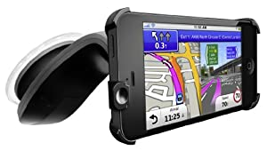 Garmin StreetPilot Navigation App and Car Kit for iPhone 5 with Western Europe Mapping by Garmin