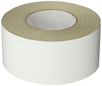 Nashua ASJ Paper/Tri-Directional Fiberglass/Foil All-Service Insulation Jacketing Tape, 50 yds Length x 72mm Width, White