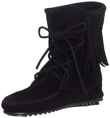 Minnetonka Women's Tramper Ankle Hi Boot,Black,4 M US