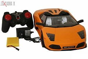 AdraxX 1:10 Convertible Sports car Full function RC Car Model GF-4755 Organge