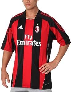 adidas Acm H Jsy AC Milan maillot domicile Football Homme Noir S