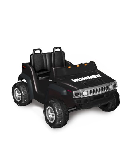 Kid Motorz Hummer H2 Two Seater 12V, Black