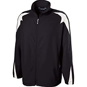 Holloway Mens Illusion Jacket (X-Large, Black/white)