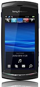 Sony Ericsson Vivaz Smartphone (UMTS, WLAN, 8.1 MP, HD-Video 720p)  Cosmic Black