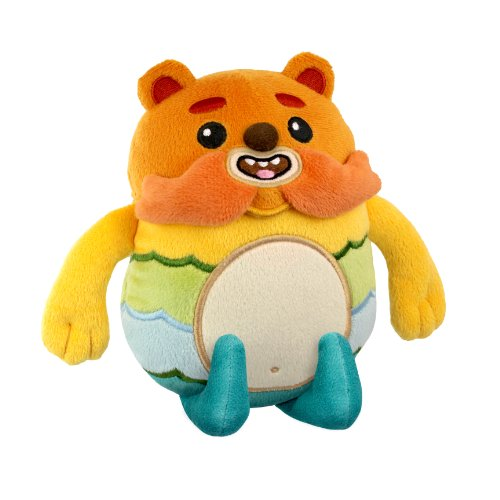 "Bravest Warriors Impossibear 6"" Plush - Bear with a 'Stache - By the Creators of Adventure Time"