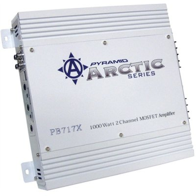 Pyramid Pb717x 1000w 2 Ch Car Audio Amplifier Amp 2 Channel 1000 Watt