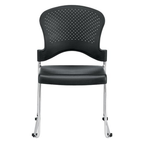 Eurotech Guest Side Reception Armless Aire Chair, S3000