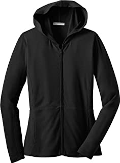 Port Authority Ladies Modern Stretch Cotton Full-Zip Jacket, black, X-Small