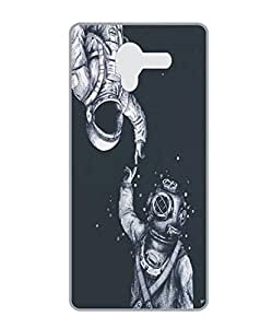 Techno Gadgets Back Cover for Lenovo Vibe K4 Note