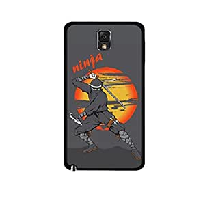 Vibhar printed case back cover for Samsung Galaxy Note 3 Neo Ninja