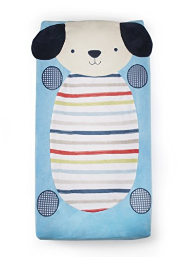Kidsline Roadmap Changing Pad Cover, Plush - 1