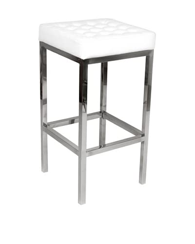 Stilnovo The Florence Tufted Stool, White