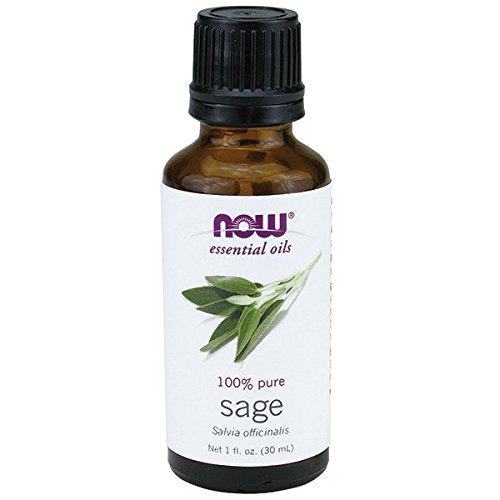 NOW Foods Essential Oils Sage -- 1 fl oz