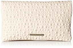 BCBGeneration Runaway Foldover Clutch, Soft Pink, One Size