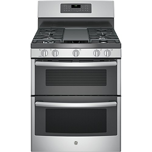 GE-JGB860SEJSS-30-Stainless-Steel-Gas-Sealed-Burner-Double-Oven-Range-Convection