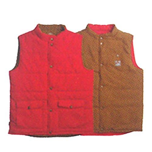 AIRBLASTER(エアブラスター) Double Puff Vest (エアブラスター) スノーボードウェア Firecracker/PuddleS