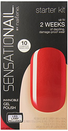 Sensationail Gel Polish Starter Kit - Scarlet Red