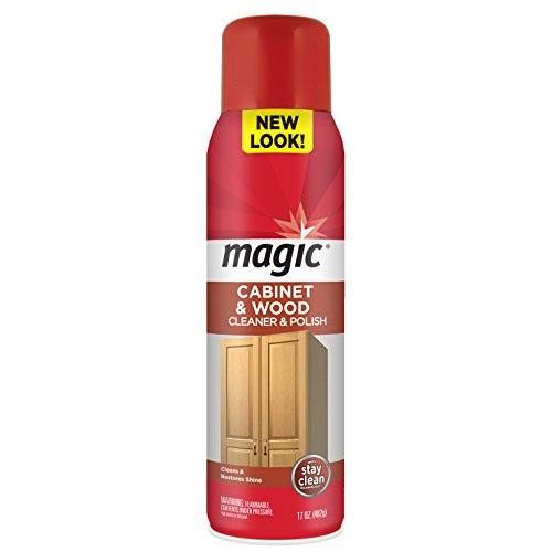 Magic Cabinet & Wood Cleaner with Stay Clean Technology, 17 oz (Cabinet Wood compare prices)