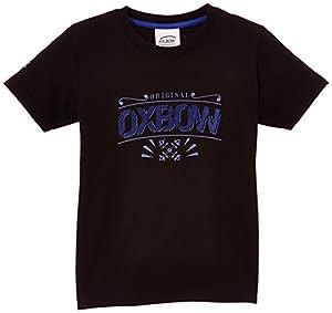 Oxbow F2jerny T-Shirt Garçon Noir FR : 14 ans (Taille Fabricant : 14A)