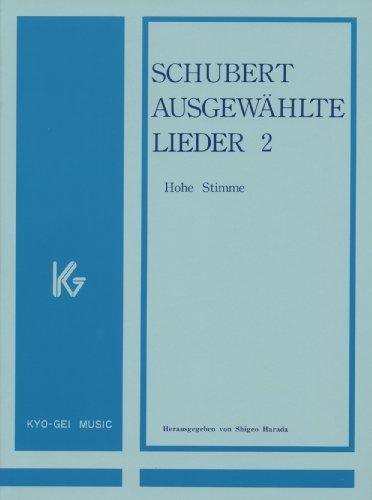 Alta voz de antología de Lieder de Schubert para 2