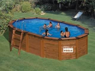 piscine semi enterr e 4x3. Black Bedroom Furniture Sets. Home Design Ideas
