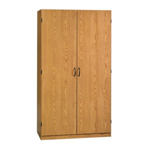 black friday oak home or office storage cabinet organizer