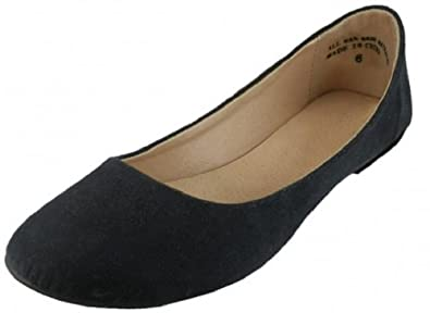 d5f0ff20d Shoes 18 Womens Ballerina Ballet Faux Suede Flat Shoes 3 Colors