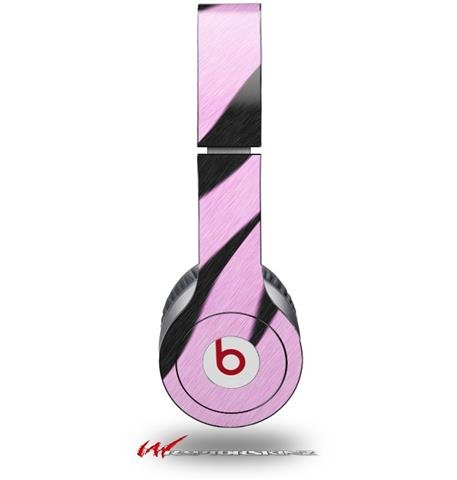 Zebra Decal Style Skin Pink Decal Style Skin (Fits Genuine Beats Solo Hd Headphones - Headphones Not Included)