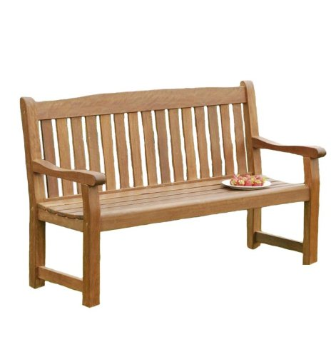 Sun Time Balmoral 3-Seat Bench in Nyatta Hard Wood