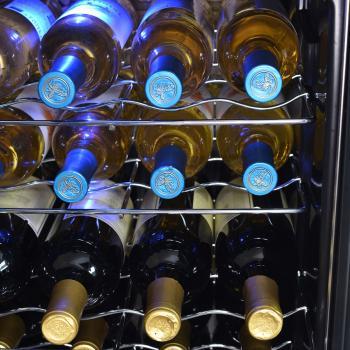 NewAir AWC-330E 33 Bottle Compressor Wine Cooler - Racks