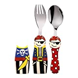 Wonderchef Pirate Cutlery Set, Set Of 2, Red